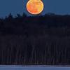 Full Moon Over Round Lake