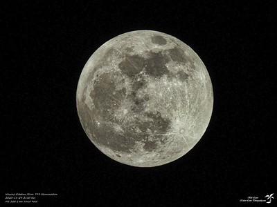 Waxing Gibbous Moon 99% Illumination