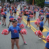 John Strickler - Digital First Media<br /> Young cheerleaders perform to the delight of the crowd watching the Skippack 4th of July parade.