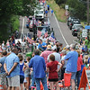 John Strickler - Digital First Media<br /> Crowds of people lineup along the parade route to watch the Skippack 4th of July parade Monday.
