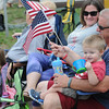 John Strickler - Digital First Media<br /> Brian and Lauren Buchert and children Madelyn and Jacob of Gilbertsville drove over to Skippack to watch the 4th of July parade.