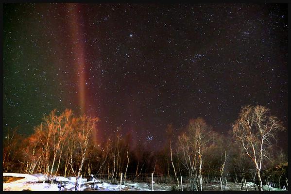 Aurora Borealis, Kirkenes, Norway