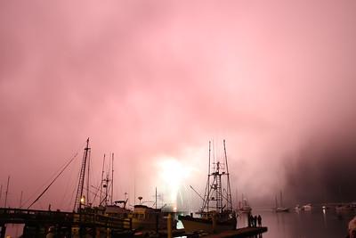 Foggy Fireworks Finale