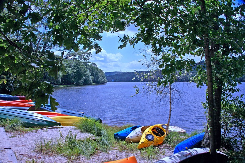 Shongum Lake in Randolph, New Jersey