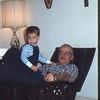 03/1971 David Barmore and Dad at Yeadon