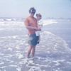 05/73 John and Jen at Brigantine Beach NJ