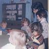 01/74 Jen's 3rd birthday<br /> Wayne (Miles?) Ohlrich Jen Deb Olga Wilson Kristy Cathy Squire John W