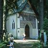 09 79 Innsbruch Volksmarch Cemetery above city