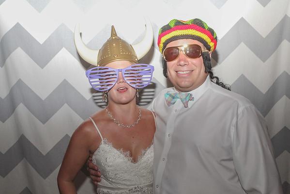 Ashley + Greg Snapbooth