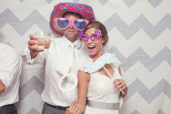 Erin + Mike Snap Booth