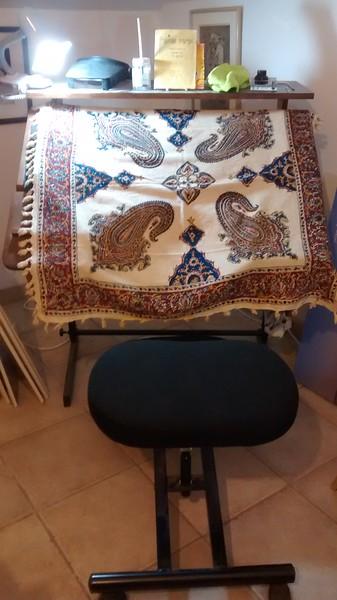 Persian woven cover for Megilah Esther