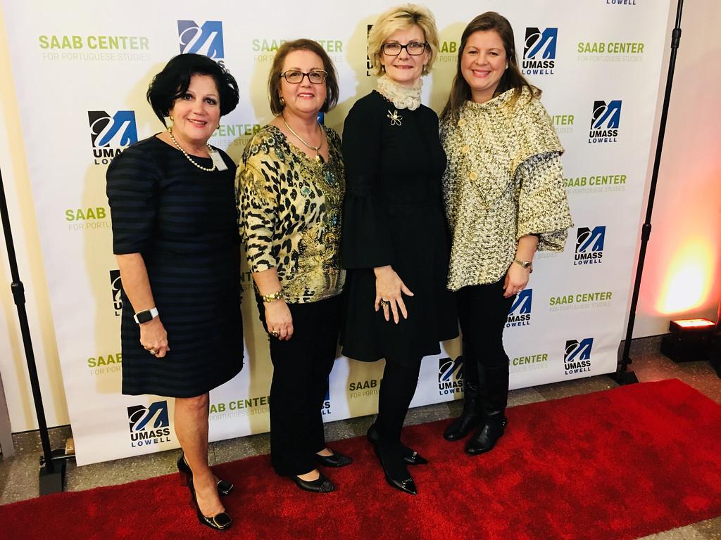 . From left, Lee Teles of Tewksbury, Diana Ramos of Dracut, Maria Lobao of Tyngsboro and Marisa Ramos of Windham, N.H.