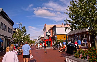 Washington Street Mall In Cape May