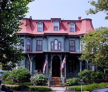 The Queen Victoria Bed and Breakfast in Cape May on the Jersey Shore.