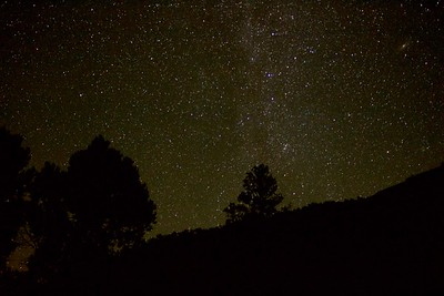 Night Sky in Abiquiu, NM