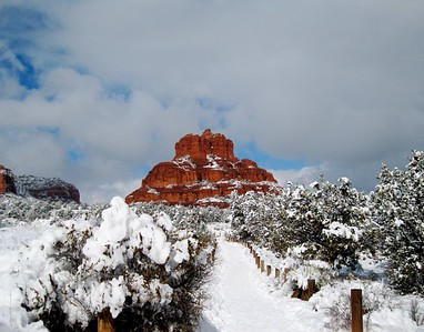 Sedona, Winter, Bell Rock