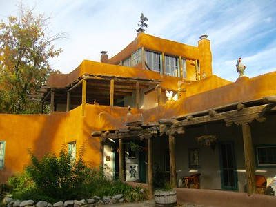 Mabel Dodge Luhan House,Taos