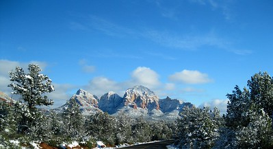 Sedona, Winter