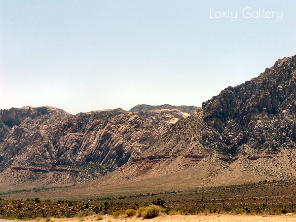 Mountains Past Red Rock Canyon