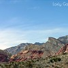 Red Rock Canyon, Las Vegas, Nevada. Photographs by Deborah Carney. Image #DSCN4347