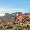 Red Rock Canyon, Las Vegas, Nevada. Photographs by Deborah Carney. Image #DSCN4344