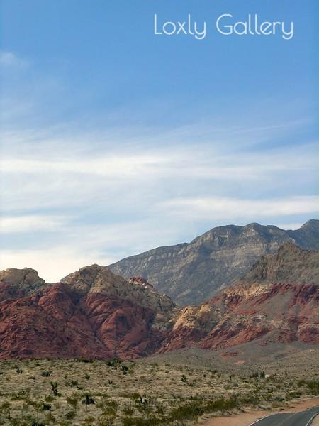 Red Rock Canyon, Las Vegas, Nevada. Photographs by Deborah Carney. Image #DSCN4335