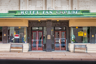 In the day the San Carlos was a gem of the down town area. It was used as a hub for many social and civic events. Today it is used as senior resident housing.
