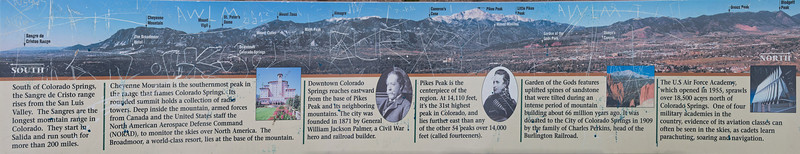 Colorado Springs_Panorama from Palmer Park_Sign