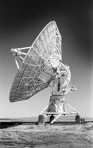 The Very Large Array, one of the world's premier astronomical radio observatories, consists of 27 radio antennas in a Y-shaped configuration on the Plains of San Agustin fifty miles west of Socorro, New Mexico. Each antenna is 25 meters (82 feet) in diameter.