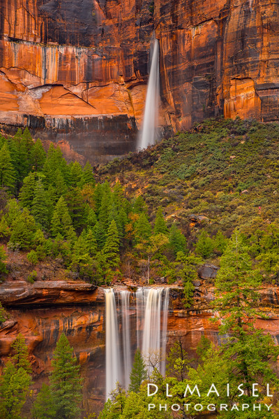 Falls at Emerald Pools Zion