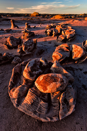"The ""Egg Factory"", Bisti Badlands, New Mexico"