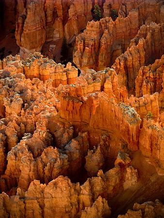 Inspiration Point, Bryce Canyon, Utah.