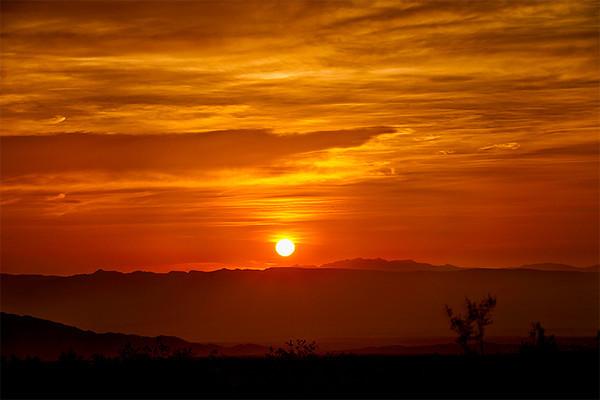 Sunrise, Needles, California