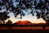 Sunset Crater Volcano National Monument, Arizona.