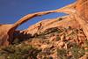 Landscape Arch, Arches National Park, Utah.