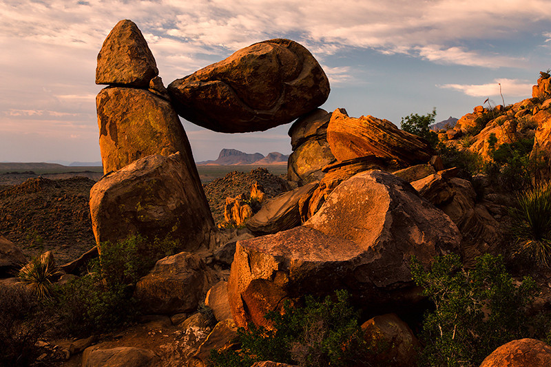 Balanced Rock, Big Bend National Park, Texas