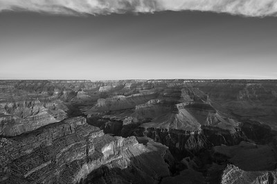 Grand Canyon Dawn Cloud