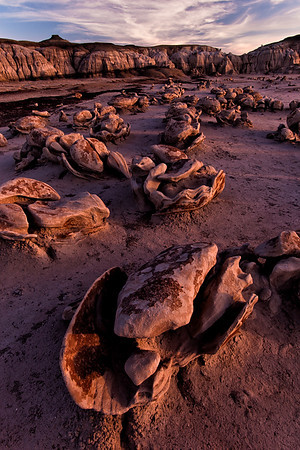"The ""Egg Factory"", Bisti Badlands, New Mexico"