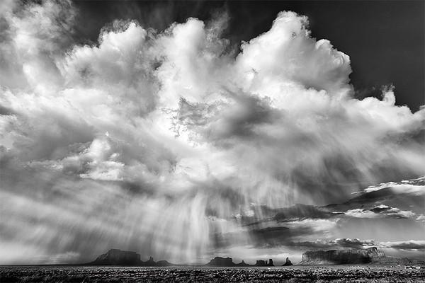 Storm, Monument Valley Navajo Tribal Park, Utah