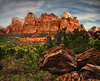 Court of the Patriarchs, Zion National Park, Utah.