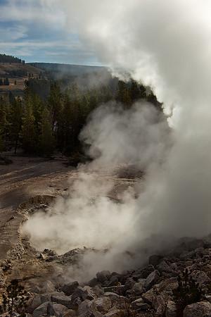 Sulfur Cauldron, Yellowstone National Park