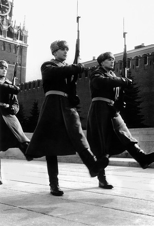 Changing of the Guard, Lenin's Tomb, Red Square, Moscow