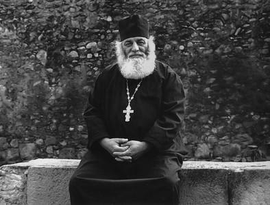 Priest in Mtskheta, Georgia