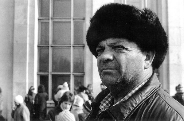 Street Portrait, Moscow