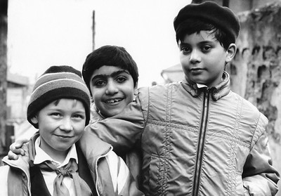 Trio of Boys / Tbilisi, Georgia
