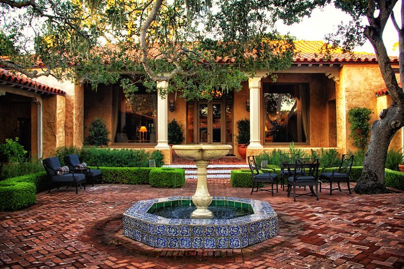 Casa Palmero Courtyard