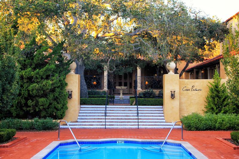Casa Palermo poolside