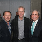 Chief Executive Officer Ghislain d'Humières, Mayor Greg Fischer and Congressman John Yarmuth.