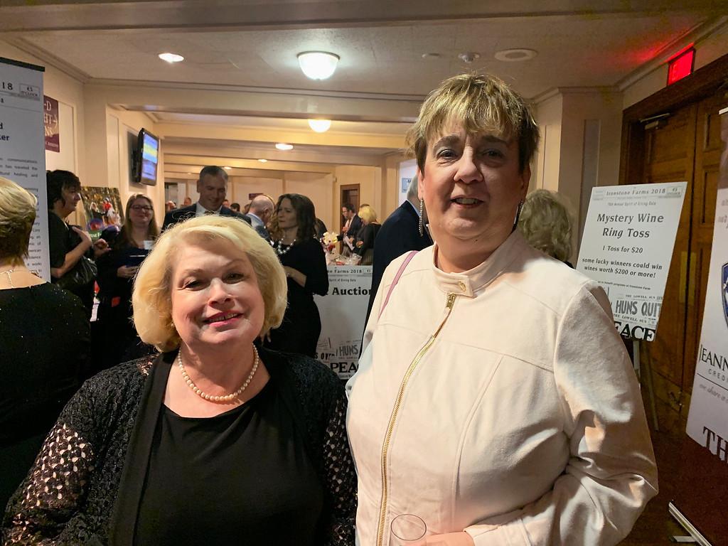 . Kate McDonough of Dracut and Meg Lemiere of Nashua