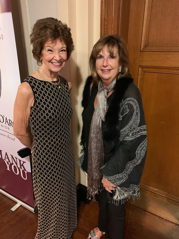 . Vicky Bernard and co-Chair Nancy Greely, both of Andover